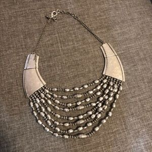 Silver Chico's Statement Necklace